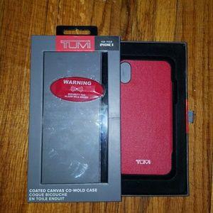 IPhone X Tumi case